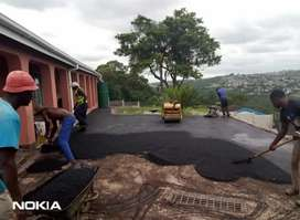 TAR AND PAVING
