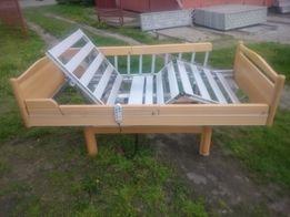 Zestaw: łóżko rehabilitacyjne z nowym materacem