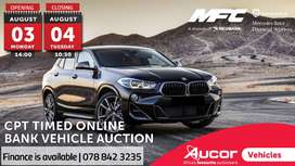 Timed Online Bank Vehicle Auction