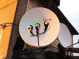 Установка и настройка Спутниковых Антенн под ключ,Спутниковое ТВ