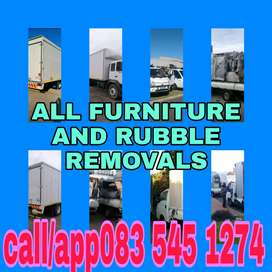 ALL FURNITURE AND RUBBLE REMOVALS
