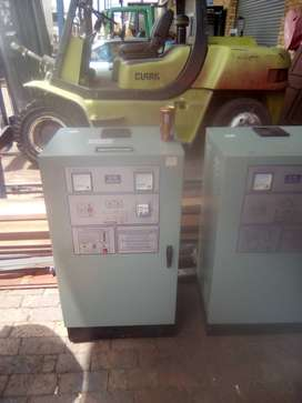 Industrial battery changer