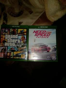 Two games Xbox one