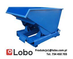 Pojemnik na odpady przechylny kontener koleba 1500 L