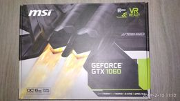 Видеокарта MSI GEFORCE GTX1060 6GB