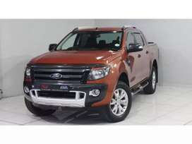 2014 Ford Ranger 3.2TDCi Double Cab 4x4 Wildtrak For Sale