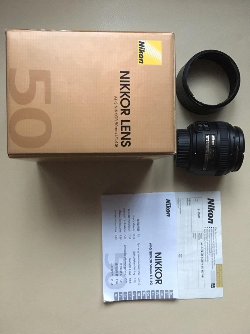 Prodam Nikon 50mm/1.4 G 0