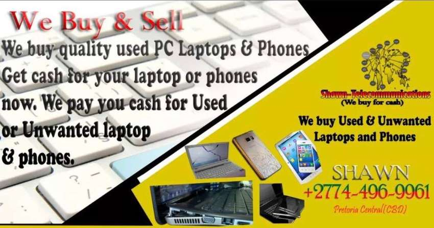 We buy iphones, ipad, Tablet, Old laptops. 0