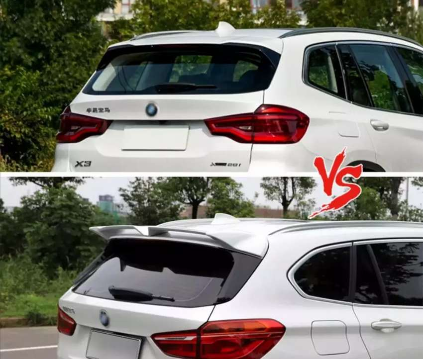 BMW G01 Boot spoilers