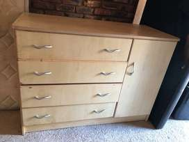Aged wooden chest of drawers for sale in pretoria