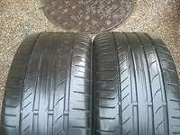 """Image of 225/45 18"""" x 2 Continental RunFLat Tyres(75%)."""