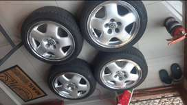 Vr6 wheels with 175z