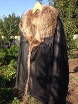 Мужская куртка из кожи 52