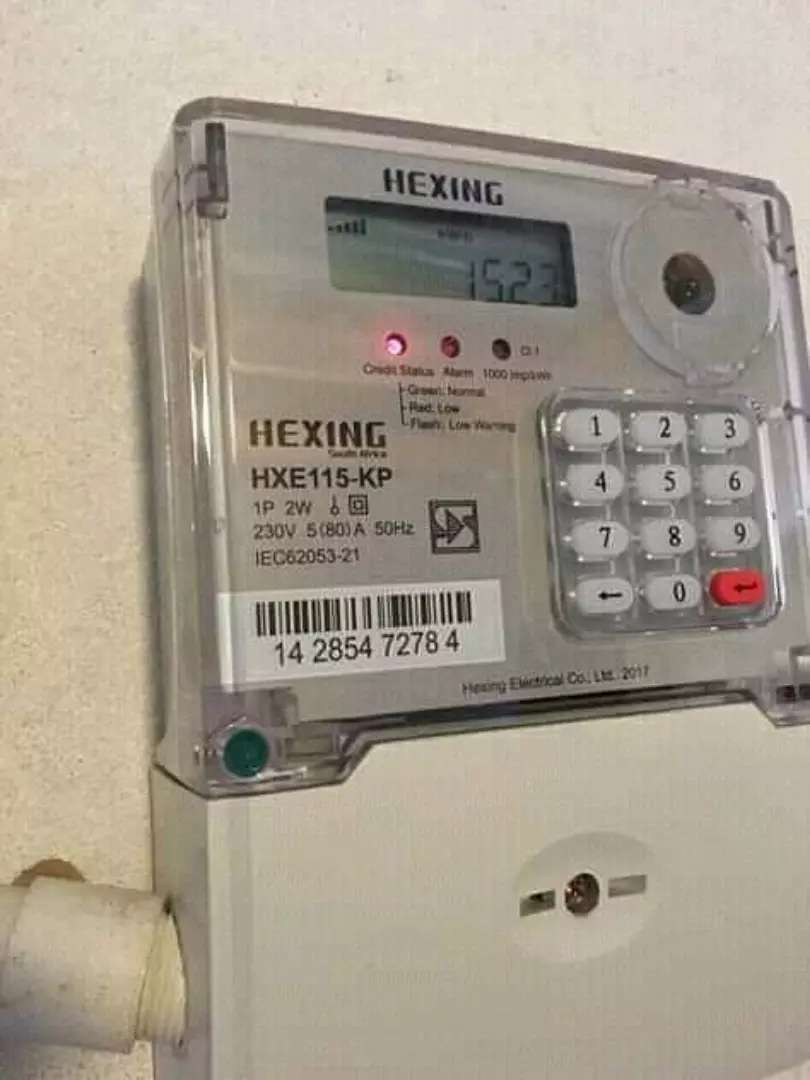 Prepaid meter installation and Db 0