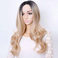 PERUKA blond ombre seksowna hit Nowa +czepek