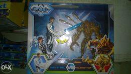 Zestaw 2w1 Ogromne Figurki Max Steel i Elementor MATTEL + gratis