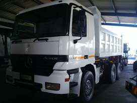 2004 ACTROS 10 CUBE TIPPER