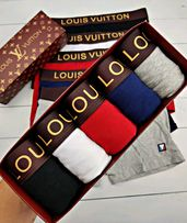 Набор нижнего белья Louis Vuitton | Трусы боксеры луи витон | подарок