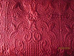 Покрывало двуспальное(красное)