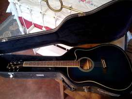 Ibanez PF series PF15ECE acoustic electric with hard case.
