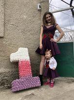 Платья мама дочь в подарок еденичку