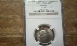 1965 graded p RR of coin by ngc in America