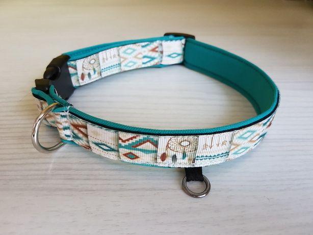 Obroża dla psa aztecka 2/2,5/3cm Sosnowiec - image 1