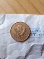 Монета ссср 5 коп.1956 ссср