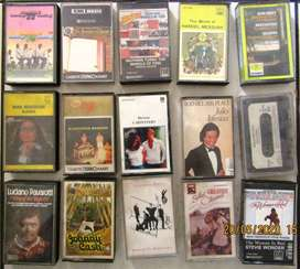 Music Cassettes from the year before yesteryear