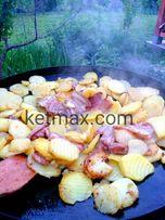 Сковорода из диска маленькая, 30 см диаметр,мангал,садж, сковорідка