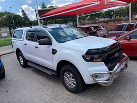 2016 FORD RANGER 2.2 DOUBLE CAB WITH CANOPY 4x4