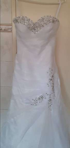 Wedding dress trou rok