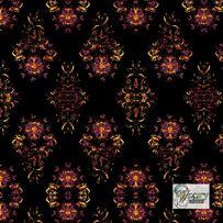 Materiał lub tapeta na zamówienie wzór: Styl kwiatowy - seria 5
