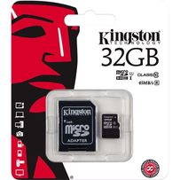 SD карта памяти Kingston 32 GB Class 10