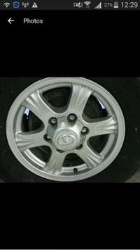 Image of GWM bakkie rims