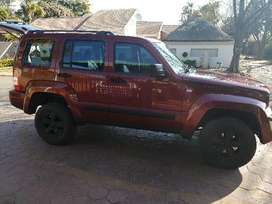 2009 Jeep Cherokee 2.8L CRD Auto Limmeted edition