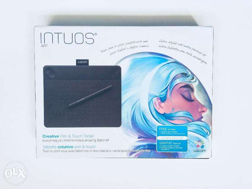 Wacom Intuos Art Graphic Pen and Touch Tablet 0