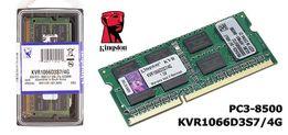 Память Kingston PC3-8500 SO-DIMM DDR3 1066MHz - 4Gb KVR1066D3S7/4G ОЗУ