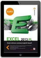 Kurs EXCEL 2013 PL - W. Wrotek - NOWA