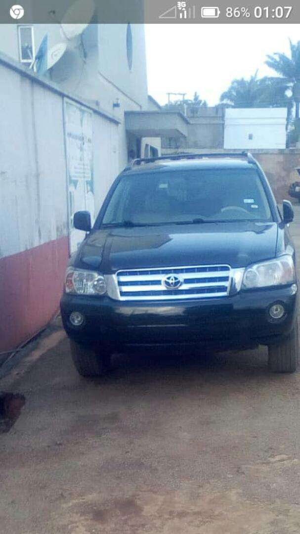 Toyota Highlander 2004/5 Direct Belgium with Full Duties 0