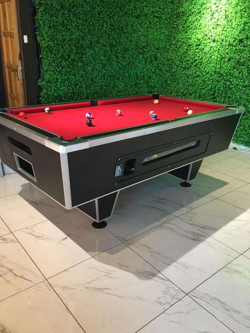 Standatd coin operated pool table available 0