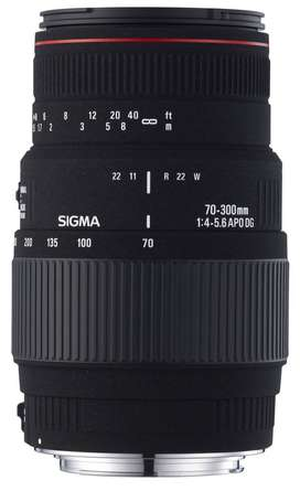 Sigma 70-300mm F4-5.6 APO DG Macro Canon fit