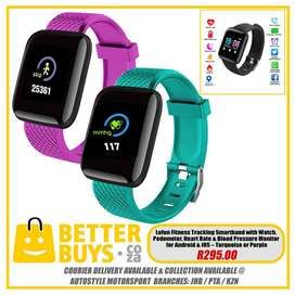 Lefun Fitness Tracking Smartband with Watch, Pedometer, Heart Rate and