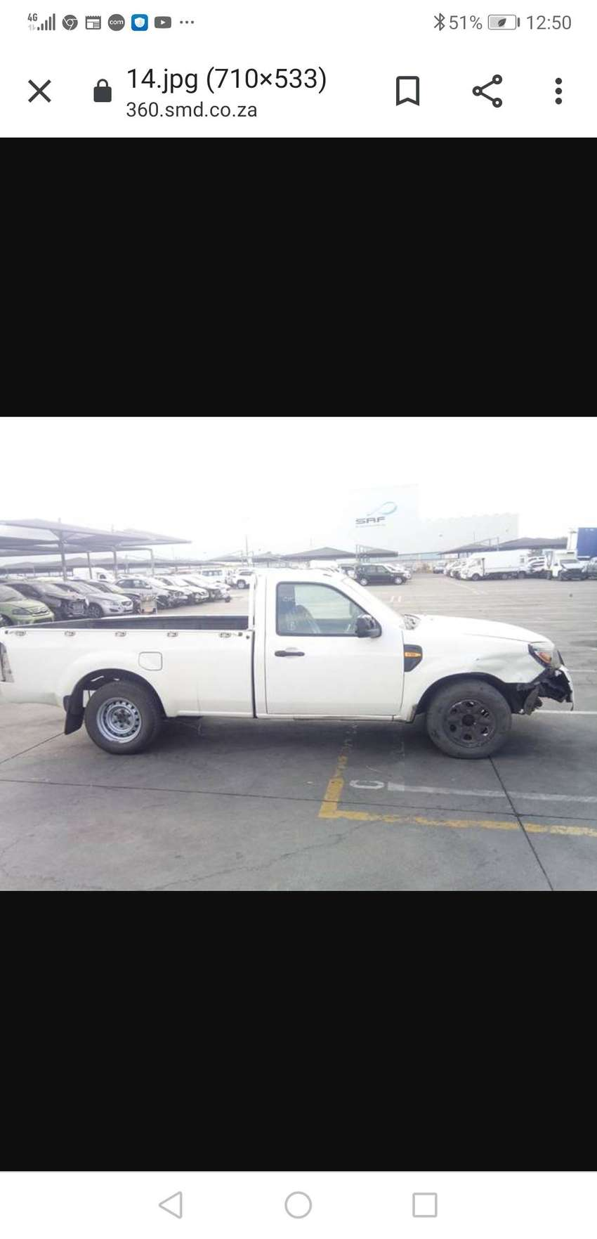 Ford ranger 2.2i loading bin and diff 0