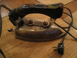 Утюг электрический в рабочем состоянии ссср старинный