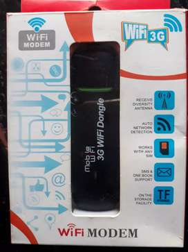 USB WIFI DONGLE SUPPORTS ANY SIM (NETWORK