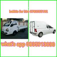 Image of Cheap cheap bakkie for hire.