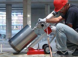 Алмазное сверление отверстий диаметром 60-250 мм.- в бетоне, кирпиче.