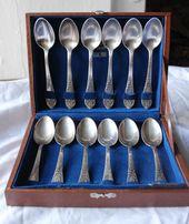 Продам новый набор - 12 посеребренных чайных ложек, мельхиор (Киев)