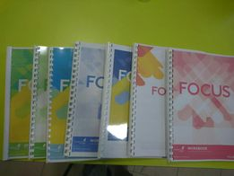 Focus Student's book, Worbook і Word Store